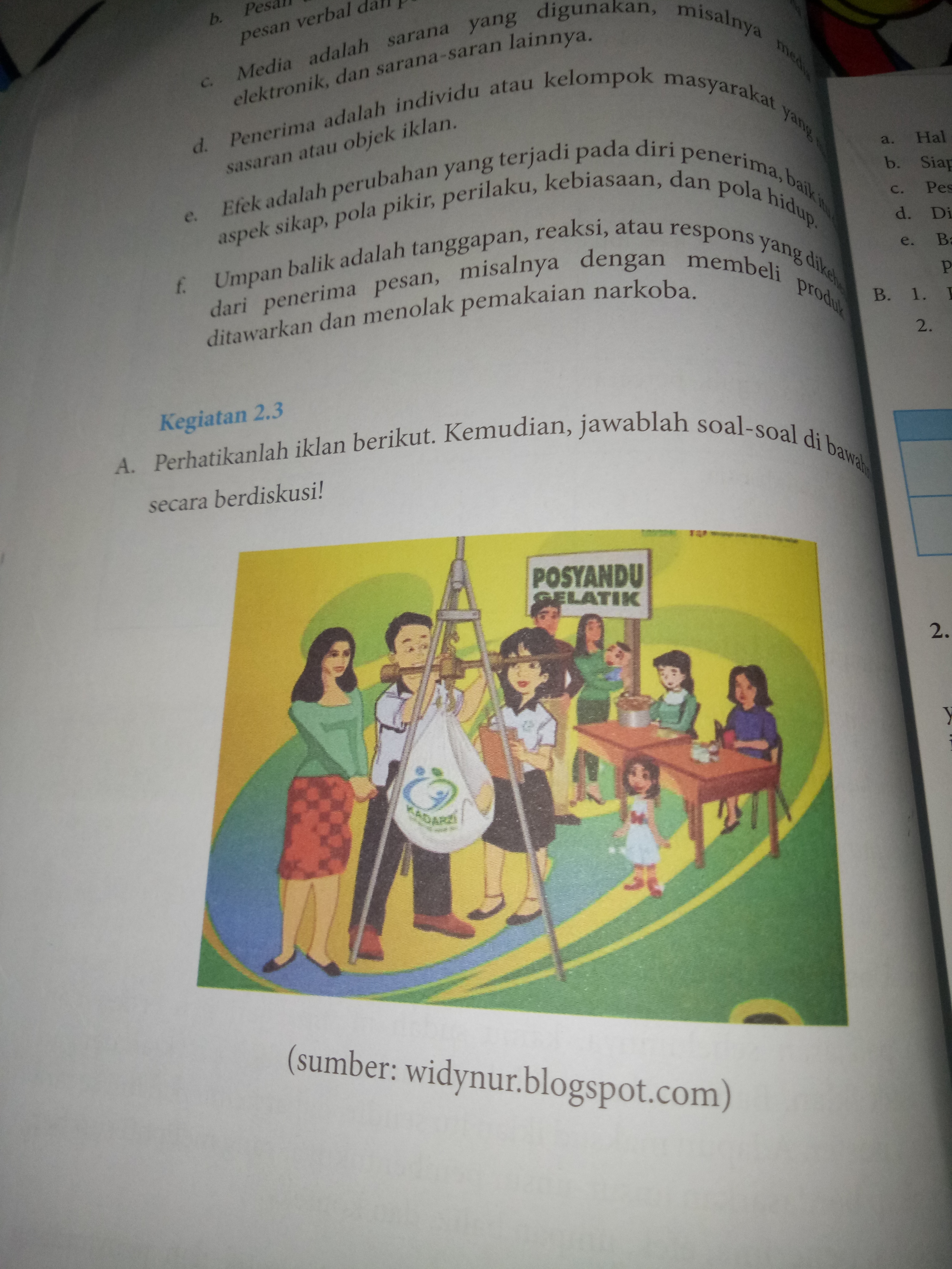 Bahasa Indonesia Kelas 8 Revisi Kegiatan 2 3 Halaman