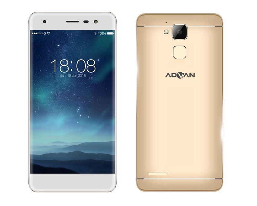 Hasil gambar untuk Advan G1 Pro - 5 INCHI RAM 3G/ROM32GB - 4G/LTE - Fingerprint