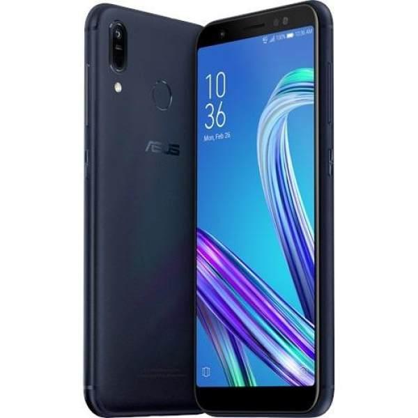 "Hasil gambar untuk Asus ZenFone Max (M1) ZB555KL - 5.5"" HD+ - 4G LTE - 3GB - 32GB - (13MP & 5MP) - Oreo - 4000mAh - Deepsea Black - ESEL"