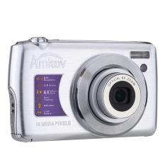 AMKOV HD Digital Kamera Video Camcorder 15MP 2.7?  X9DTFTLCDAnti-shakeScreen 4X Optical Zoom (Perak)-Intl