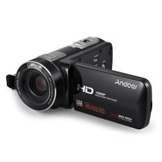Andoer HDV-Z80 1080 P Penuh HD 24MP Digital Kamera Perekam 10X Zoom Optik Anti-Shake Deteksi Wajah dengan 3 Inci Layar Sentuh Ringan Jarak Jauh Pengendali-Internasional