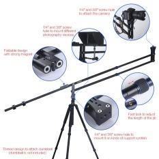 Andoer VS-200 6.0ft Dapat Dilipat Dapat Dilipat Kompak Mini DSLR Kamera Video DV Studio Crane Jib Lengan untuk Nikon Canon sony Olympus Pentax Kamera Maks. kapasitas Beban 5Kg/11Lbs-Internasional
