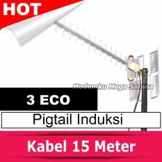 Antena Yagi Extreme 3 Eco Pigtail Modem Induksi