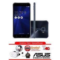 Asus Zenfone 3 - ZE520KL - RAM 4GB - ROM 32GB - Hitam- Free VR MAX - Garansi Resmi Asus Indonesia