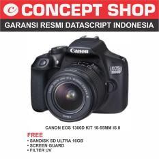 Canon EOS 1300D Kit 18-55mm  IS STM RESMI
