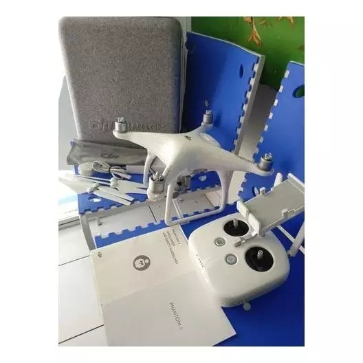 DJI Phantom 4 Quadcopter Drone with 4K Action Camera
