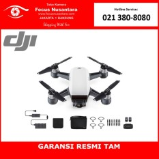 DJI SPARK Fly More Combo (Alpine White) + Free Battery
