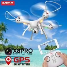 Drone Besar SYMA X8 PRO Quadcopter dengan GPS  dan Kamera Wifi HD FPV2.4G 4CH