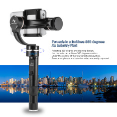 Feiyu Tech Newest G4 Pro 3 Axis Brushless Motor Handheld Gmibal Smartphone Stabilizer Pan Moving without Limited for iPhone 7Plus 7 6Plus 6 for Samsung Note7 S6 for Huawei P9 P9 Plus for Xiaomi 5 Note3 and Other Smartphones within 53mm-80mm - intl
