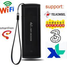 FLORA saku 4G FDD LTE EVDO Hotspot WIFI Router USB Modem WIFI Router nirkabel  for Indosat ,3 ,XL ,Telkomsel ,Smartfren