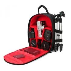 G-raphy Tas Kamera Camera Backpack dengan Rain Cover untuk Canon, Nikon, Sony, Lens, tripod dan Aksesoris (Ukuran Kecil)-Intl