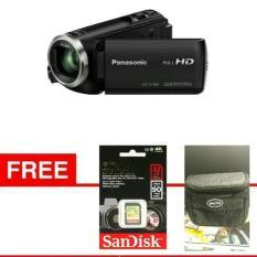 Handycam Panasonic HC- V180 Free SDHC 32GB EXTREME Free TAS