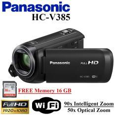 Handycam Panasonic HC-V385  Camcorder Panasonic V385 Garansi resmi Free Memory 16GB