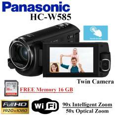 Handycam Panasonic HC-W585 Camcorder Panasonic HCW585 Garansi resmi Free Memory 16 GB