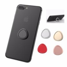 ICHECKEY Creative 360 Degree Cell Phone Stand Holder Metal Anti DROP Finger Ring Holder untuk OnePlus 3/3 T Xiaomi Redmi Catatan 4 Samsung Galaxy S7 Edge (Segitiga) -Intl