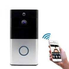 Migoozi WiFi Video Doorbell, Pintu Nirkabel Nirkabel 720 P HD Wifi Keamanan Pintu Kamera, nyata-Waktu Bicara Dua Arah dan Video, Malam Vision, pir Gerakan Deteksi dan Kontrol Aplikasi untuk IOS dan Android-Internasional