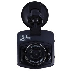 Mini Car DVR Camera Full HD 1080P DCR Detector Recorder CamcorderParking Recorder Dash Cam Video G-sensor Night Vision (Black) - intl