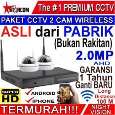 PROMO...PAKET CCTV 2 CAM NEW SUPER-HD 2 MEGAPIXEL TERMURAH