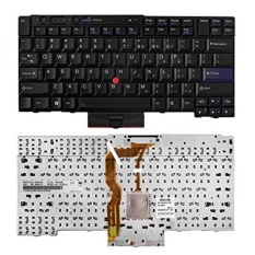 SHINESTAR Replacement Keyboard for Lenovo ThinkPad T420 T510 T520 W510 W520 X220 T510i T520i Series Black US Layout - intl