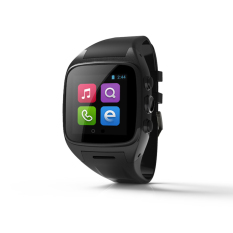 Solmed SX10 3g Android 4.2 Smart Watch Blackwith Hitam Band-Intl