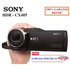 Sony Handycam HDR-CX405 Full HD Camcorder Free Memory 16 GB