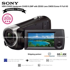 SONY HDR-CX405 Handycam CX405 9.2MP with ZEISS Lens CMOS Exmor R Full HD (Garansi 1th)
