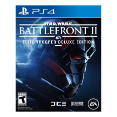 SONY PS4 Game Star Wars Battlefront II Elite Trooper Deluxe Edition