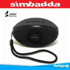 Thelapak Speaker Bluetooth Music Player Portable Simbadda CST 330N Original