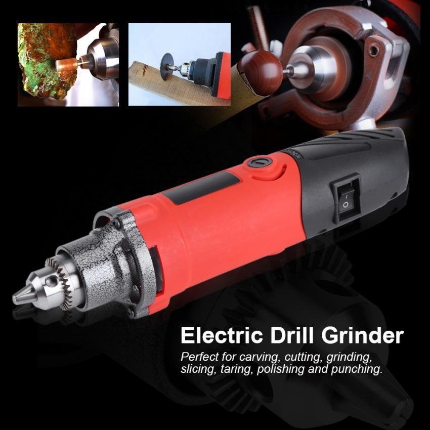 TMISHION 400 W Variable Speed Electric Mini Die Drill Grinder Power Alat Putar-Internasional