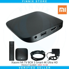 Xiaomi Mi BOX 3 Smart 4K Ultra HD Android TV 6.0 (International Version) - Black