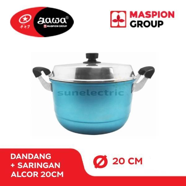Maspion Dandang Alcor 20cm - Multi colour