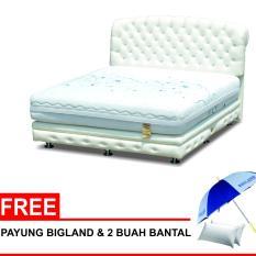 Bigland Las Vegas Hotel Platinum Bed - Putih + Gratis Payung