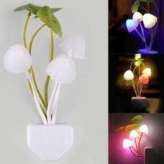[ Free Kabel Data Karakter ] Lampu Tidur Unik Bentuk Jamur Avatar Sensor Gelap