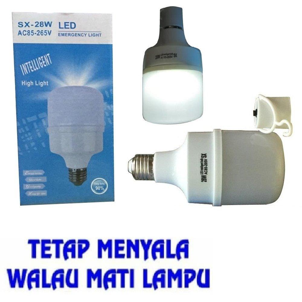 Bohlam Emergency Lampu LED Emergency Bohlam Sentuh / Lampu Darurat Otomatis Menyala Saat Mati Lampu - 28 Watt