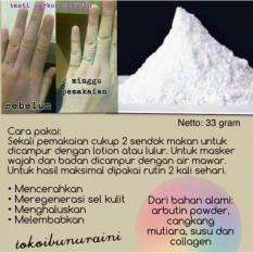 Serbuk Pemutih Super Glowing Glutathion Susu Kefir Collagen
