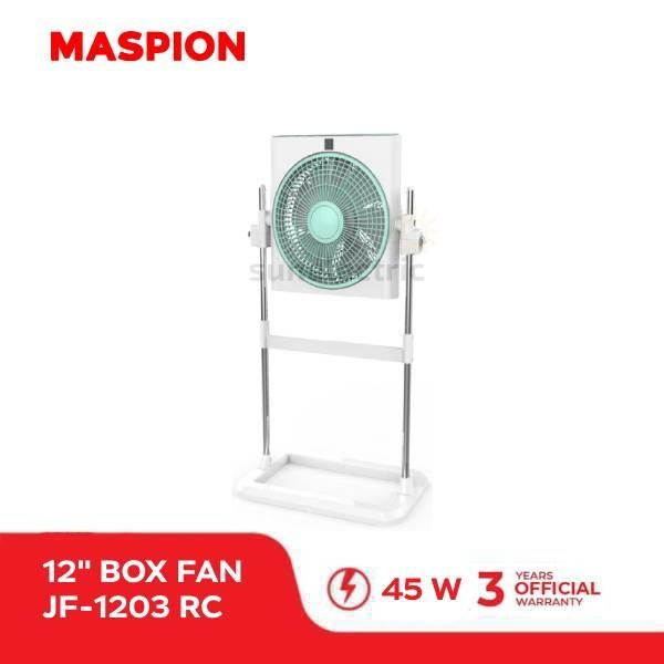 Maspion JF-1203 RC Stand Box Fan/ Kipas Angin Berdiri + Remote Control 12
