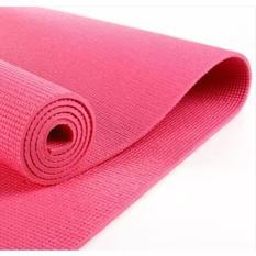 Retail Station - Matras Yoga - Yoga Mat - Pilates Mat - Hot Pink