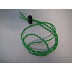 Swimming Bungee Goggle Strap 3.22mm thick (neon green)  - intl