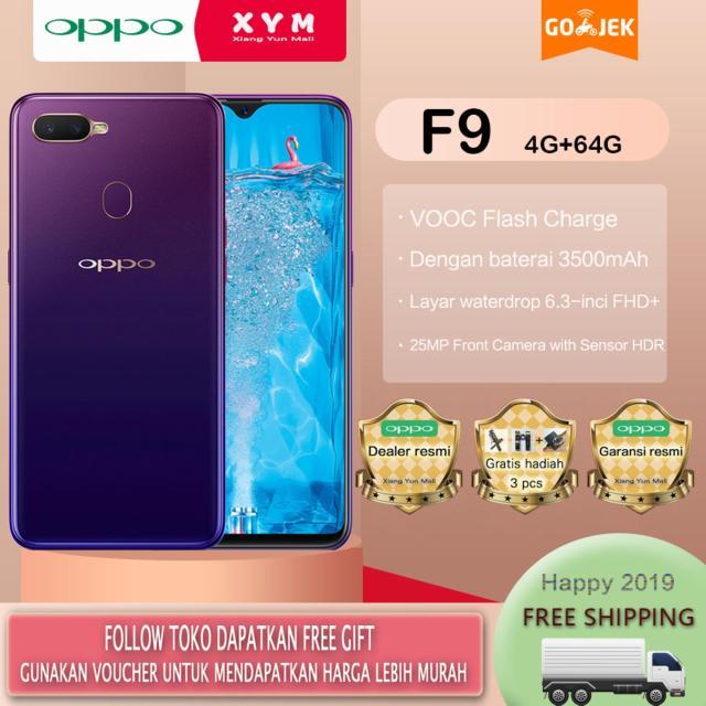 OPPO F9 - 4G/64G VOOC Flash Charge,Garansi resmi(Gratis Ongkir)