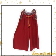 Dhee Celana Kulot Babat All Size - [Red]