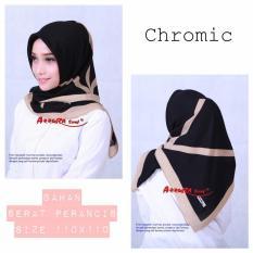 hijab-krudung segi empat termurah lamis chromik-jilbab terkini dan trendy