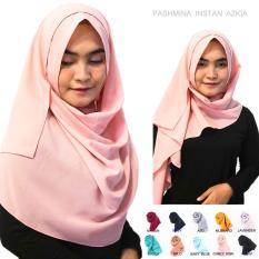 Pashmina Instan Azkia - Jilbab Instan Kerudung Berkualitas - Hijab Khimar Pastan