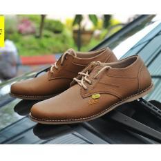 Sepatu Pria Semi Formal / Casual Low High Terbaru - COUNTRY BOOTS ST LOW RX - Coklat