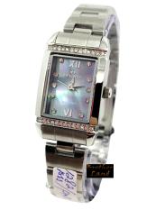 Hegner - H12821L - Jam Tangan Wanita - Stainless Steel - Silver Dial Abu