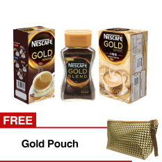 Paket Nescafe Gold Berhadiah Gold Pouch