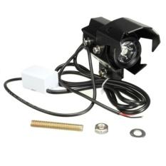 U8 LED Lampu Sorot Sepeda Motor Motorbike Headlight Tinggi / Rendah Beam Headlight Lampu - BLACK