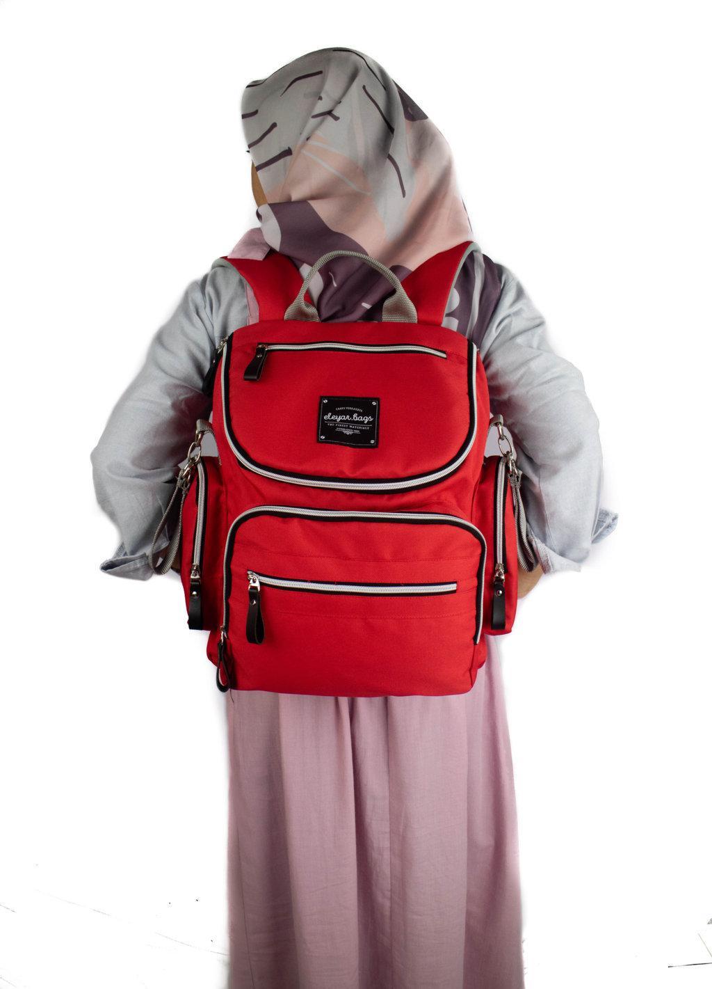 Aurel - Tas Ransel Perlengkapan Bayi / Backpack Bayi Multifungsi