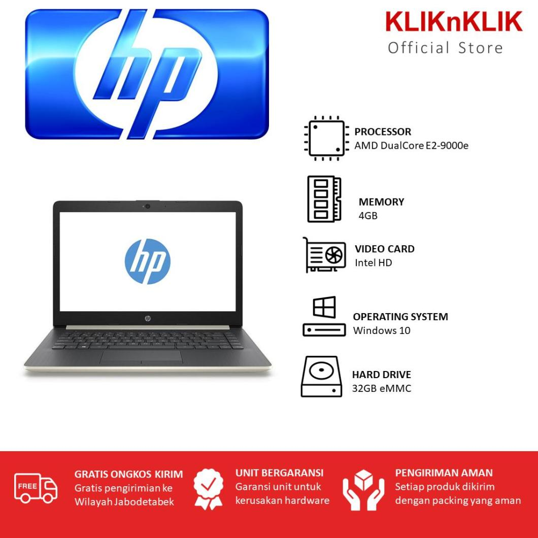 HP 14-E2-9000e-4GB-32GB-Win10 Silver