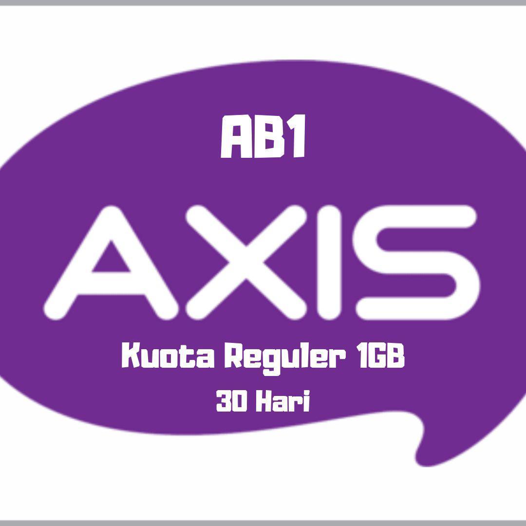 AXIS brownet 1GB / 24jam / 30hari