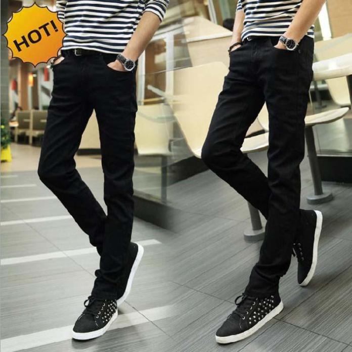celana jeans denim pria celana panjang jeans pria slim fit celana putih pria